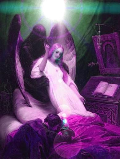 el-angel-y-el-rayo-de-la-muerte