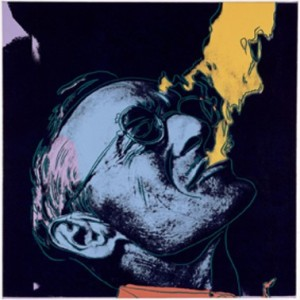 Andy Warhol - Hermann Hesse - serigrafia a partir de uma foto de Martin Hesse - Museu Leopold – Viena - 60cm x 80cm