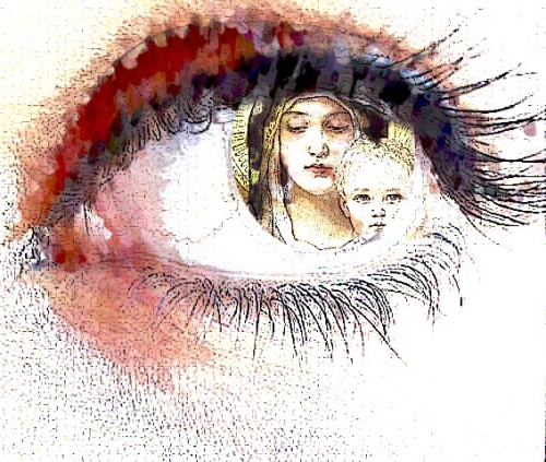 Olhar materno - Cleto de Assis