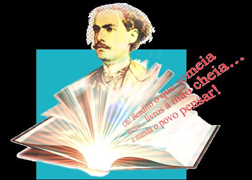 O Livro e a América - ilustração de Cleto de Assis