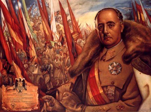 Retrao do General Francisco Franco, comemorando o fim da Guerra Civil Espanhol