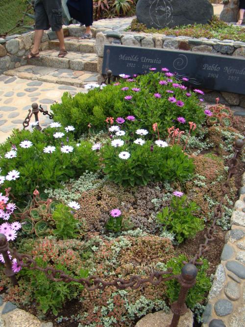 Túmulo de Pablo e Matilde, em Isla Negra