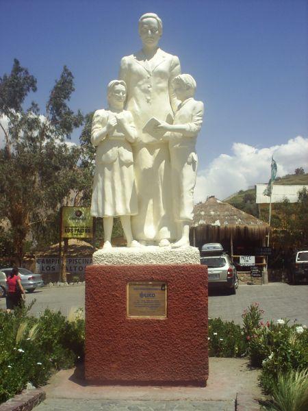 Monumento a Gabriela Mistral, Monte Grande, Valle del Elqui, La Serena, no Chile